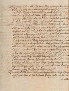Instrukcja Sejmikowa 1658 roku na sejmik ziem pruskich cz.4/6
