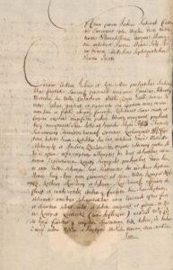Zeznanie Sądowe o Dewastacji Majątku Konopat Niemiecki 1715 rok 1
