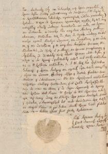 Zeznanie Sądowe o Dewastacji Majątku Konopat Niemiecki 1715 rok 2