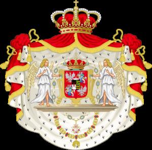 August wtóry z Bożej łaski król Polski, Wielki książę litewski, ruski, pruski, mazowiecki, żmudzki, kijowski, wołyński, podolski, podlaski, inflancki, smoleński, siewierski i czernihowski a dziedziczny książę Saski i elektor.
