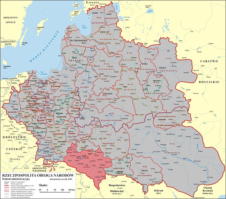 Rzeczypospolita Obojga Narodów - Bruchnal - Województwo Ruskie