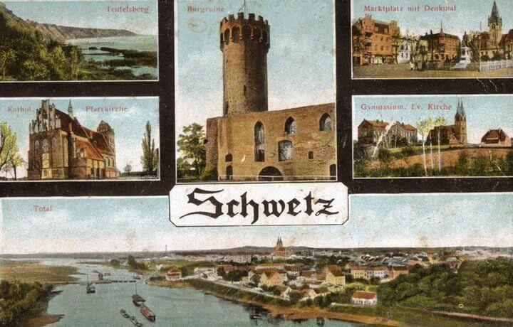 Świecie kartka pocztowa