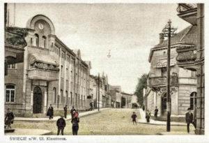 Świecie róg Klasztorna Mickiewicza