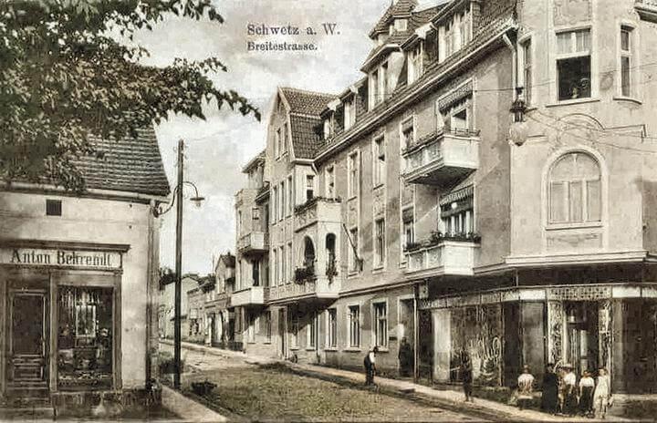 Breitestrasse obecnie 10 lutego