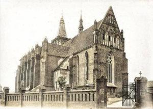 Kościół Wniebowzięcia Najświętszej Maryi Panny w Chełmnie 1925