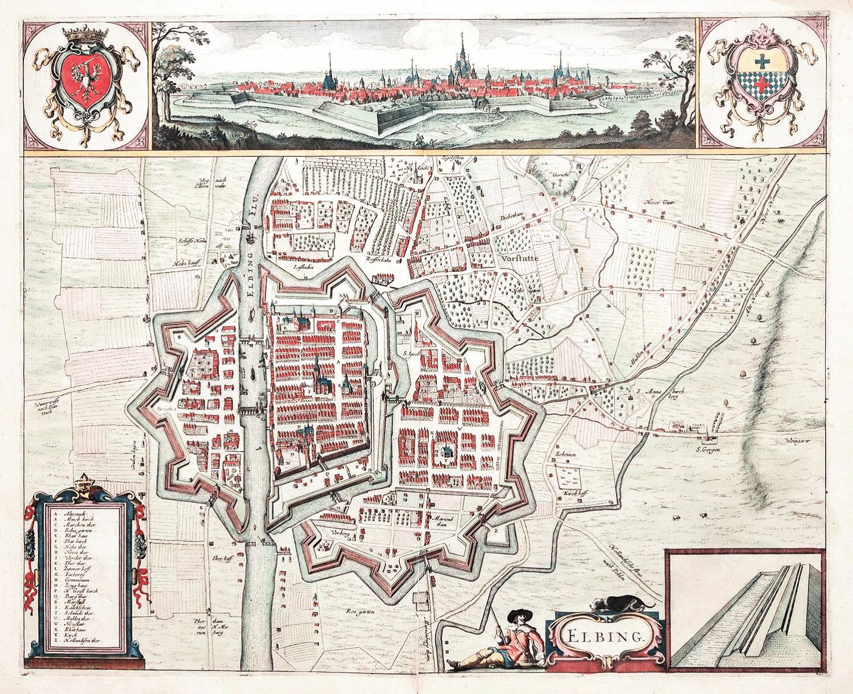 Elbląg 1657