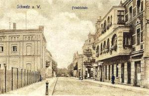 Friedrichstrasse dzisiejsza Mickiewicza