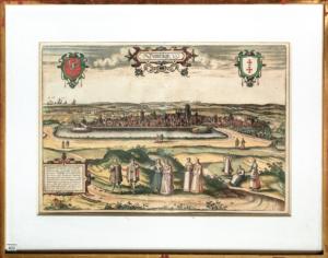 Gdańsk 1575 Georg Braun i Frans
