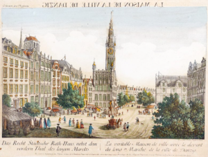 Gdańsk 1755 Balthasar Friedrich Leizel