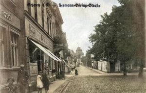 Hermann Goering STarsse dzisiejsza Klasztorna od Dużego Rynku