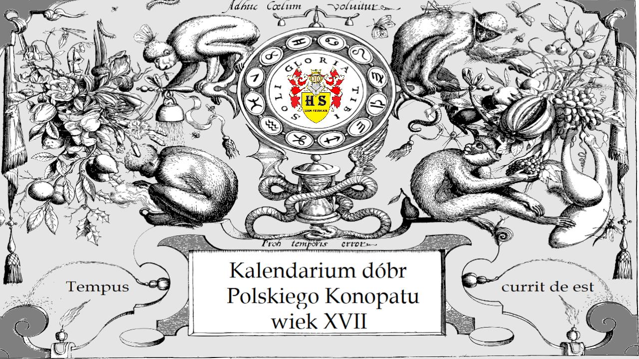 Kalendarium dóbr Polskiego Konopatu wiek XVII