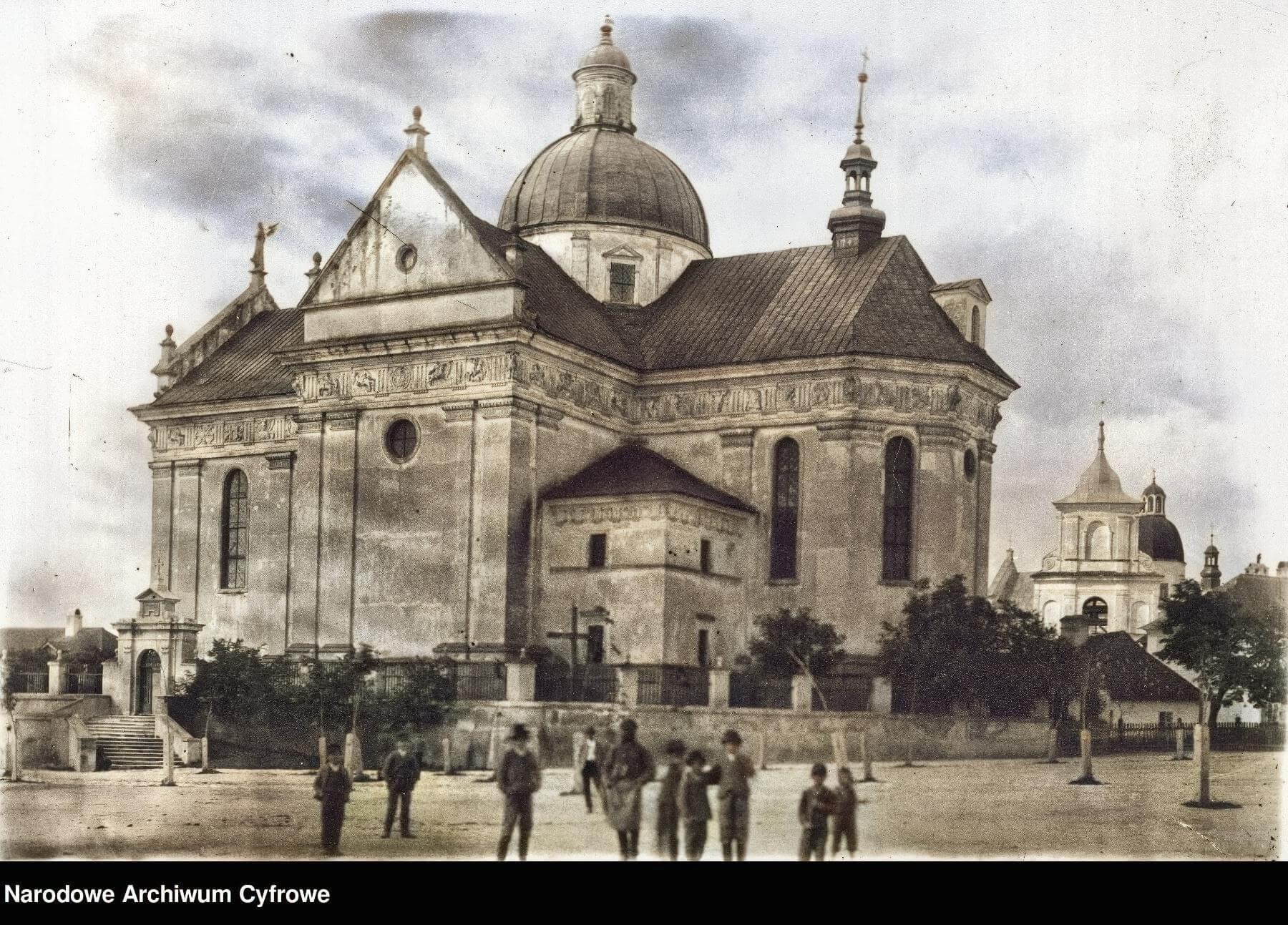 Kościół św. Wawrzyńca Kolegiata w Żółkwi