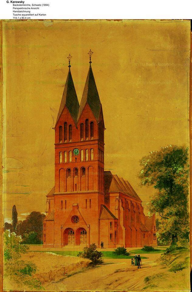 Kościół ewangelicki w Świeciu 1894