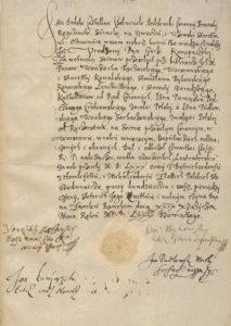 Jerzy Konopacki Kwarta wobec Rzeczypospolitej 1589 roku