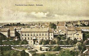 Obecnie teren Szpitala Psychiatrycznego