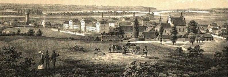 Panorama Schwetz 1855