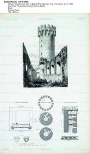 Plan zamku w Świeciu