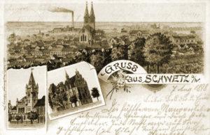 Pozdrowienia ze Świecia 1898