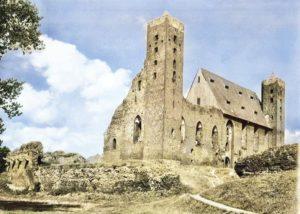 Zamek Krzyżacki w Radzyniu Chełmińskim Rauden 1925