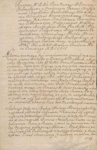 Respons Króla Leszczyńskiego do posłów 1707 roku 1