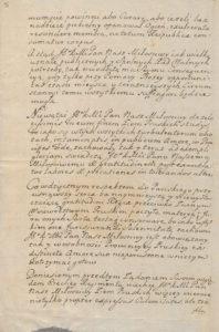 Respons Króla Leszczyńskiego do posłów 1707 roku 2