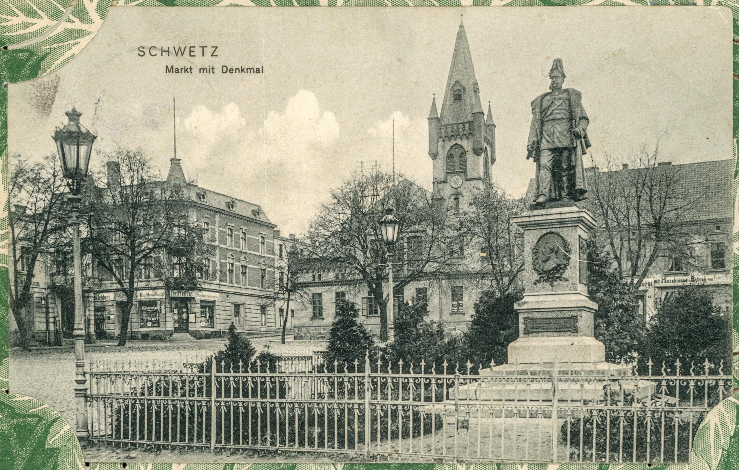 Rynek Cesarz Wilhelm I 25 stycznia 1920 roku zdemontowano