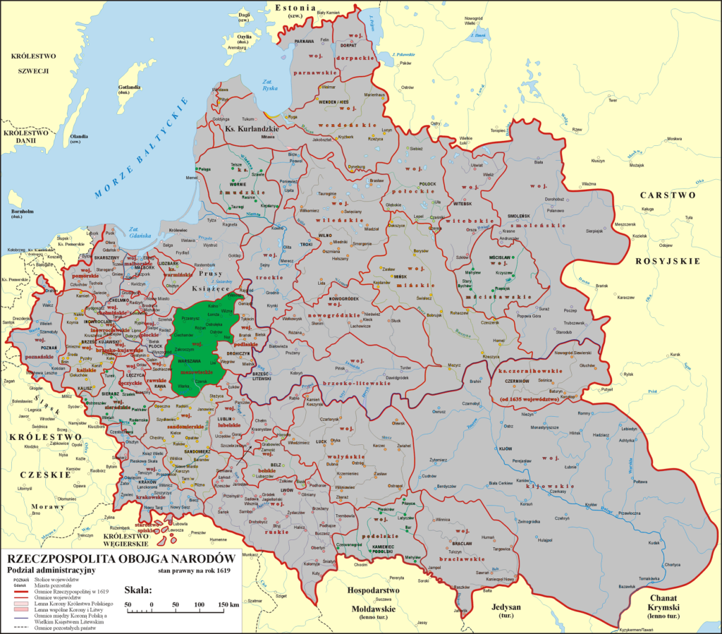 Rzeczpospolita Obojga Narodów - Warszawa - Województwo Mazowieckie