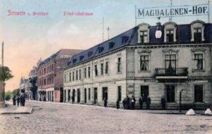 Swetz Friedrichstrasse obecnie ul Mickiewicza