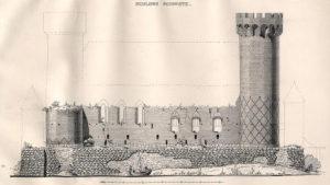 Zamek w Świeciu rycina Steinbrechta