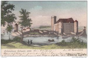 Zamek w Świeciu 1655