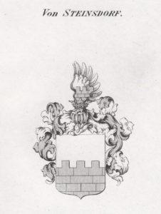 Herb rodziny von Steinsdorff z 1605 roku tożsamy z Herbami rodziny z Konopatu