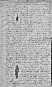 Adam Konopacki zastawia Szramowo Białobłockiemu 1659 roku