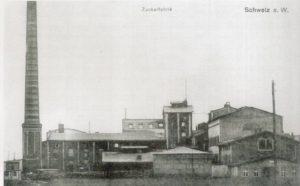 Cukrownia w Świeciu 1917