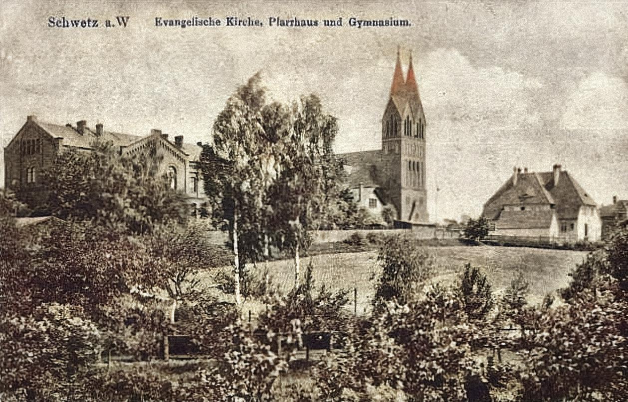 Kościół ewangelicki oraz gimnazjum