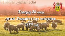 Kradzież 24 owiec ze wsi Smogulec i tego następstwa 1689 rok