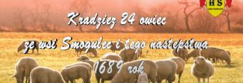 Kradzież owiec ze wsi Smogulec i tego następstwa 1689 rok