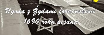 Ugoda z Żydami fordońskimi 1690 roku pisana