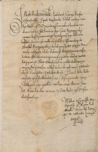 Jerzy Konopacki Kwit Kwarciany za rok 1579