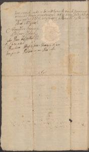 Konopacki puszcza w arendę młyn w Kozłowie 1698 roku