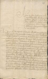 Kruszyńscy puszczają Zajezierze Orzelskim 1719 roku