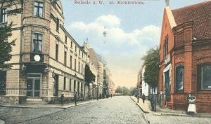 Ul Mickiewicza 1900 r