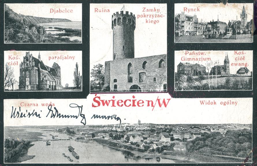 Pozdrowienia ze Świecia 1923