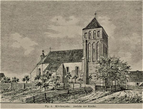 Kościelna Jania Kościół Świętej Trójcy w Kościelnej Jani