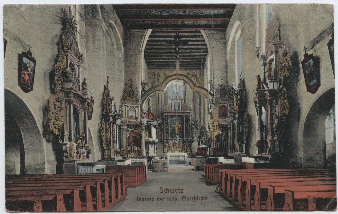 Kościół Farny Wnętrze