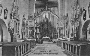 Świecie Kościół Farny Wnętrze