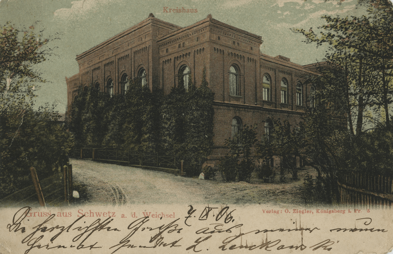 Urząd Miasta 1906