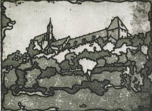 Widok na wzgórze klasztorne