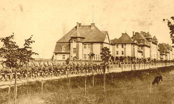 Wkroczenie wojsk do byłego garnizonu pruskiego w Świeciu