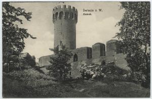 Zamek w pruskich czasach
