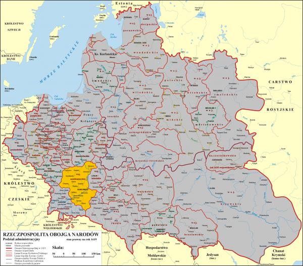 Rzeczypospolita Obojga Narodów - Wąchock - Województwo Sandomierskie